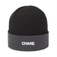 DIME 2 TONE WAFFLE BEANIE BLACK