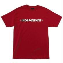 INDEPENDENT BAR CROSS S/S T SHIRT RED