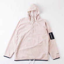 GRIND LONDON FLEECE TREK-TOP - CREAM