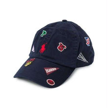POLO RALPH LAUREN EMBROIDERED LOGO CAP - NVY