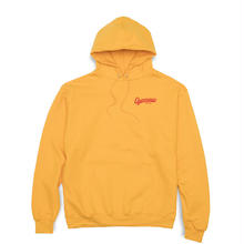 QUARTERSNACKS GROCERY CAMPION HOODIE - YELLOW