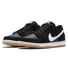 NIKE SB ZOOM DUNK LOW PRO - BLACK/WHITE/GUM