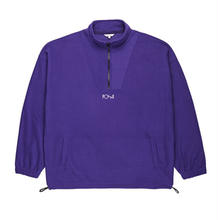 POLAR SKATE CO LIGHTWEIGHT FLEECE PULLOVER 2.0 - DEEP PURPLE