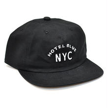 HOTEL BLUE ARCH CAP - BLACK