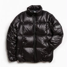 STUSSY Down Puffer Jacket - Black