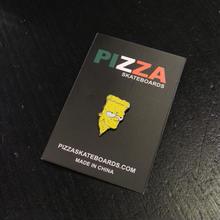 PIZZA SKATEBOARDS BART PIN