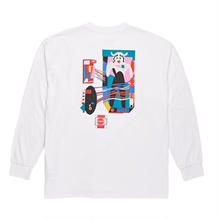 POLAR SKATE CO FREQUENCY LONGSLEEVE  - WHITE