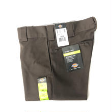 Dickies Slim Fit 873 Work Pants - Chocolate Brown