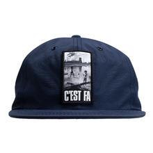 FUCKING AWESOME C'EST FA Hat - Navy