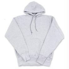 CAMBER PULLOVER HOODED (CROSS KNIT) - GREY