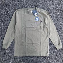DICKIES Long Sleeve Heavyweight T-Shirt - Moss Green