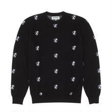 FUCKING AWESOME Flies Knitted Sweater-BLACK