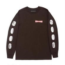 Callme 917  91 Stone Long Sleeve T-Shirt  BROWN