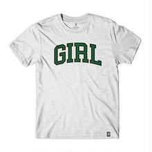 GIRL SKATEBOARDS ARCH TEE - ASH