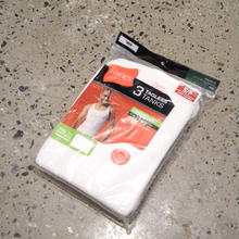 HANES 3pack tagless tanks WHITE