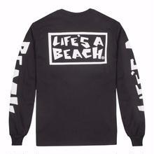 LIFE'S A BEACH LAB All Sleeve-Black