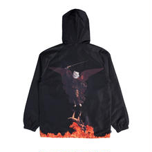 RIPNDIP Hell Pit Hooded Coaches Jacket (Black)