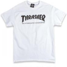 THRASHER SKATE MAG T SHIRTS - WHITE