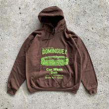 DOMINGUEZ Sandwich Hoodie-Brown