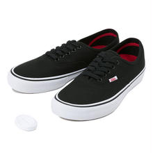 VANS AUTHENTIC PRO (CANVAS) - BLACK / WHITE