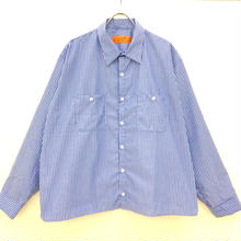 REDKAP REMAKE WORK SHIRTS-BLUE/WHITE