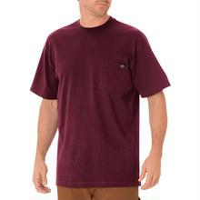 DICKIES Short Sleeve Heavyweight T-Shirt - Burgundy