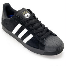 adidas skateboarding SUPERSTAR VULC ADV BLACK WHITE