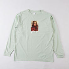 GRIND LONDON CUTE TEES LS T-SHIRT - MINT GREEN