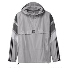 adidas 3ST TRACK JACKET - LIGHT GREY