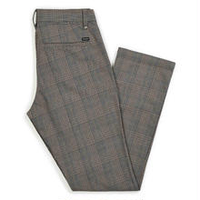 BRIXTON RESERVE CHINO PANT - GREY PLAID