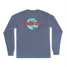 ONLY NY Planet Pocket L/S Tee - Denim
