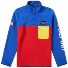 POLO RALPH LAUREN HI TECH CAPSULE COLOUR BLOCK POLAR FLEECE