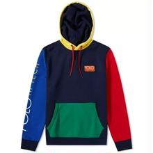 POLO RALPH LAUREN HI TECH COLOR-BLOCKED HOODIE