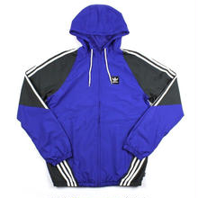 adidas INSLEY JACKET - BLUE/GREY/WHITE
