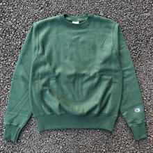 CHAMPION REVERSE WEAVE CREW NECK -DARK GREEN