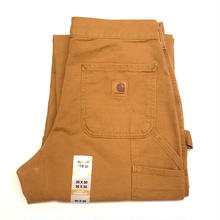 CARHARTT WASHED DUCK WORK DUNGAREE-Carhartt Brown