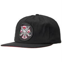 Independent x Thrasher Pentagram Cross Snapback Hat - Black