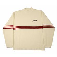 YARDSALE Pierre knitted Sweatshirt - Cream