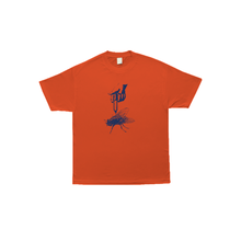COME SUNDOWN THE FLIES S/S TEE -ORANGE
