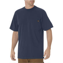 DICKIES Short Sleeve Heavyweight T-Shirt - Dark Navy