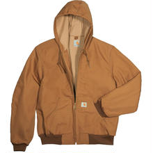 CARHARTT  J131 Cotton Duck Active Jacket-Carhartt Brown