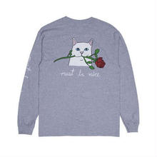 RIPNDIP Romantic Nerm L/S (Heather Gray)