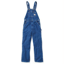 CARHARTT WASHED DENIM BIB OVERALLS