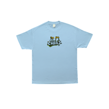 COME SUNDOWN CHAOS S/S POWDER TEE -BLUE