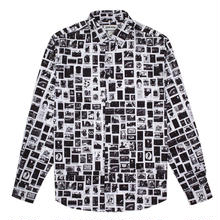 FUCKING AWESOME Stamps Dress Shirt-White/Black