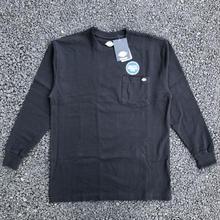 DICKIES Long Sleeve Heavyweight T-Shirt - Black