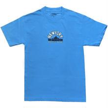 HOTEL BLUE SKYSCRAPER TEE - SAX BLUE