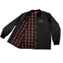ANTI HERO  Basic Eagle Embroidered Speciality Coaches Jacket  - Black