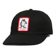 BUTTER GOODS DEVIL 6 PANEL CAP-BLACK