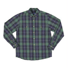 ONLY NY Lodge Flannel Shirt - Navy